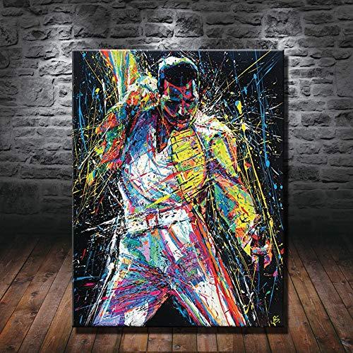 Cuadro Freddie Mercury  marca YuFeng_Art_Inn