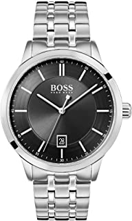 Hugo Boss Watch Mens Analogue Classic Quartz Watch with Stainless Steel Strap 1513614