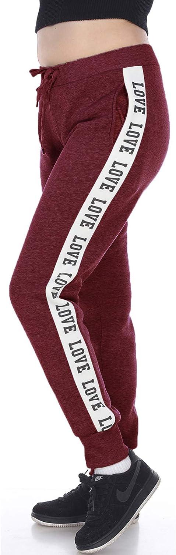Facitisu Womens Joggers Sports Drawstring Waist Sweatpants shopping Strip Safety and trust