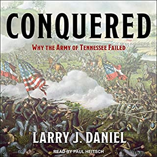 Conquered audiobook cover art