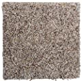 "Smart Squares Piece of Cake 9"" x 9"" Ultra Premium Residential Soft Carpet Tiles, Peel and Stick, Easy DIY Installation, Seamless Appearance, Made in USA (Sample, 768 Bisque)"
