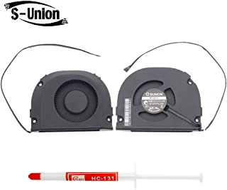 S-Union New CPU Cooling Fan for Apple A1470 Time Capsule MG60121V1-C01U-S9A with Thermal Grease