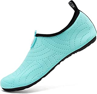 incarpo Water Shoes Ladies Mens Beach Shoes Womens Quick-Dry Aqua Socks Sea Shoes Barefoot for Outdoor Running Surfing Div...