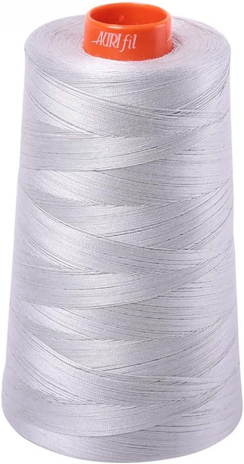 Aurifil 2615 Mako 50 Max 65% OFF Wt Max 62% OFF 100% Cotton Thread 452 Cone Yard Alum 6