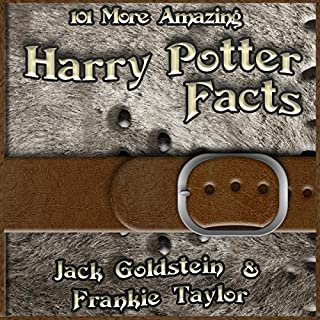 『101 More Amazing Harry Potter Facts』のカバーアート