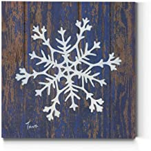 Amazon Com Wood Snowflakes Wall Art