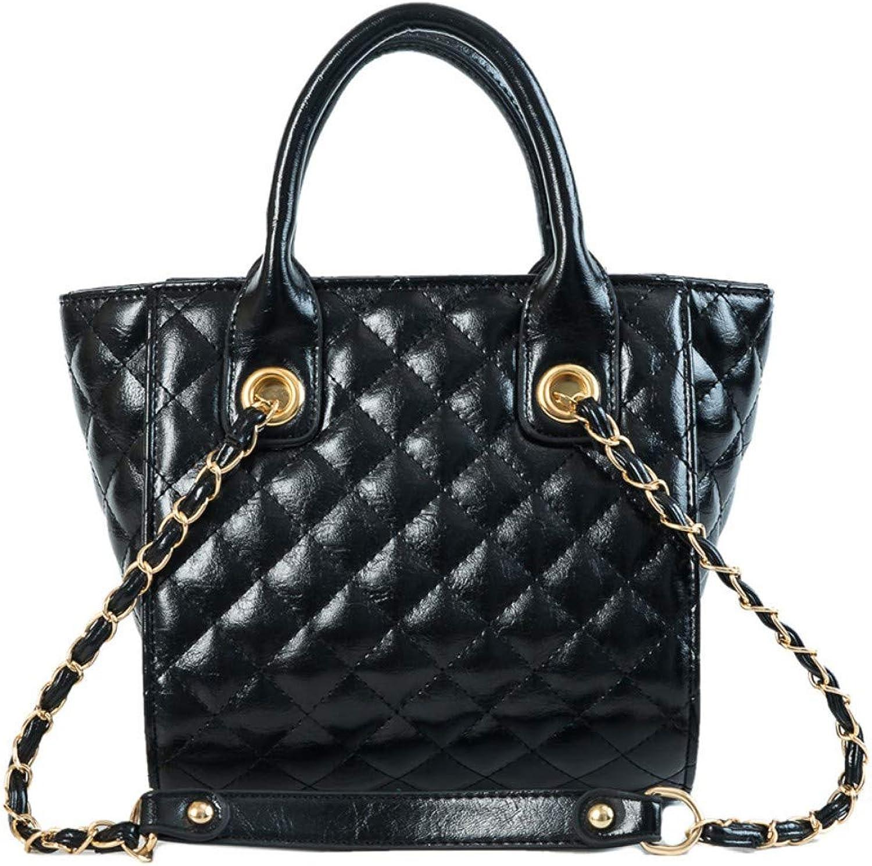 Lidoudou Tasche weibliche große Kapazität Mode wild Umhängetasche Größe (hoch 20 cm, Breite 29 cm) Material PU B07P4XPVQH  Wirtschaftlich und praktisch