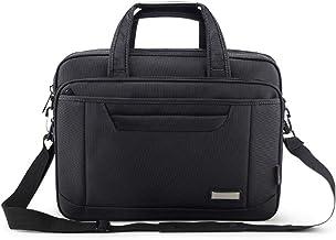 """Lorna Single Strap Shoulder Laptop Messenger Bag 15.6"""" (Black)"""