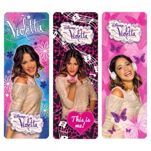 Plástico marcadores Disney Violetta - seleccionado aleatoriamente modelo