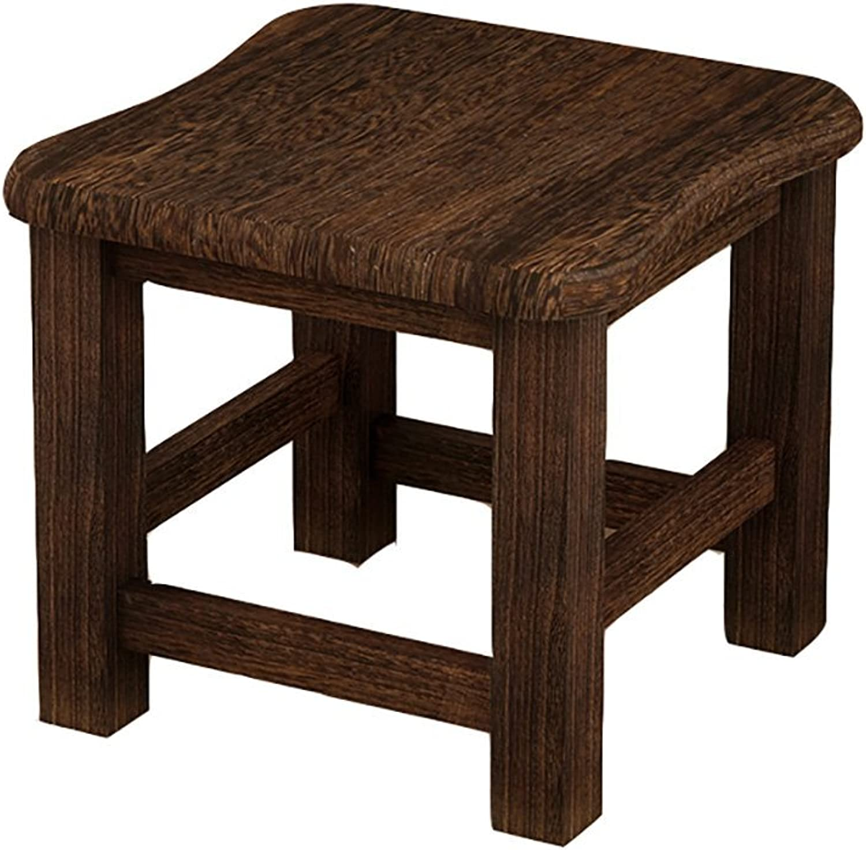 AIDELAI Bar Stool Chair- Stool Home Modern Small Stool Fashion Creative Stool Stool Solid Wood Home Wood Stool Saddle Seat (color   B)