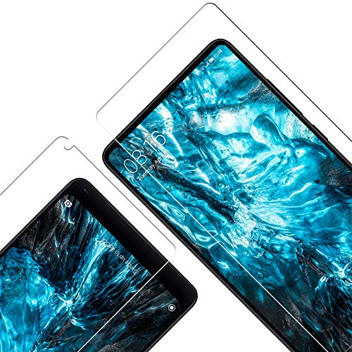 Vkaiy Protector de Pantalla para Xiaomi Mi Mix 2/2s, [Compatible con Carcasa][9H Dureza] [Alta Definicion] [Sin Burbujas] [Anti-Arañazos] Cristal Templado Premium para Mi Mix 2/2s, 3 Unidades