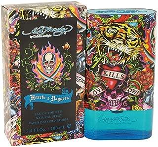 Ed Hardy Hearts & Daggers by Christian Audigier Eau De Toilette Spray 3.4 oz for Men