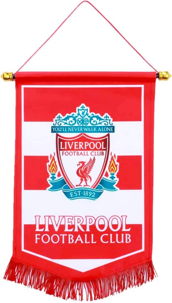 15/×9 inch Football FC Club Flag Pennant Banner Hanging Outdoor or Indoor for World Soccer Team Fan