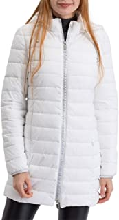 Trussardi Jeans Jacket with Hood Regular Fit Soft Hand Nylon Giacca Impermeabile Donna