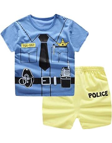 18c7078afdbf2 ふく福 可愛い綿キッズベビー半袖 Tシャツ+パンツ 上下セット子供服 薄手
