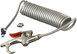 GG Grand General 99511 Heavy Duty Air Seat Blow Gun Kit with 8 Ft. Coil for Truck, Buses, Utility Vehicles and More