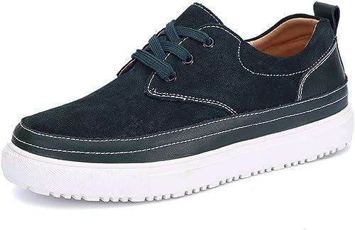 Qiusa Semelle en Caoutchouc - Chaussures Chaussures Chaussures de Sport de Mode pour Enfants, Vert foncé, Royaume-Uni 7 (Couleuré   -, Taille   -) 5d6