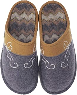 HAFLINGER Cottage Unisex Wool Slippers