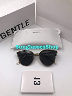 Gentle Monster Sunglasses Sign of Two Tortoise Frame Black Zeiss Lenses With Origianl Package Sets