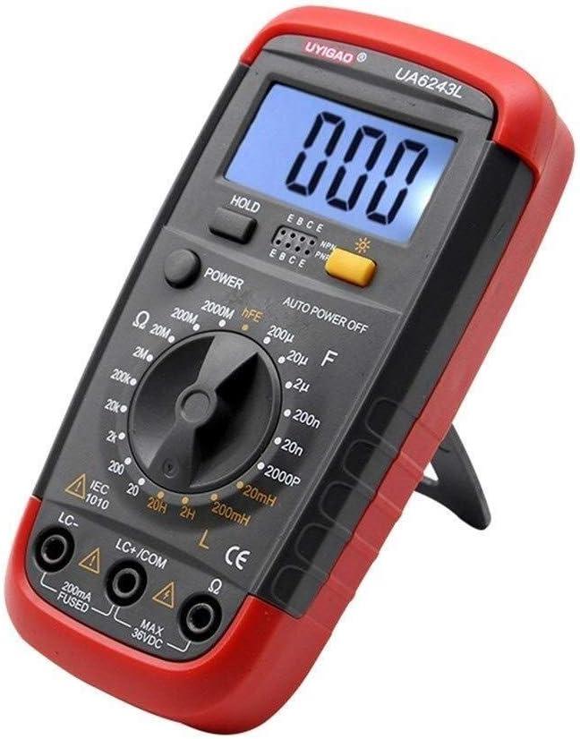 ShiSyan Precise Instrument UA6243L Auto Capaci Digital LCD Raleigh Mall Range Indefinitely