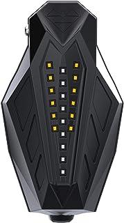 MSFDOG Stuur/grepen Eindbescherming Guard met Turn Signalen en Distribal Lamp Geschikt voor de meeste Motorfietsmodellen M...