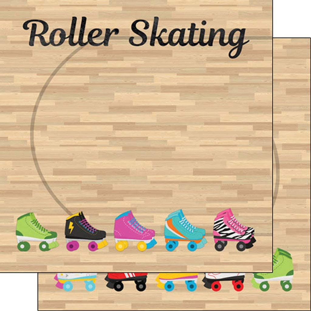 Ranking TOP17 Scrapbook Customs 39525 Roller Skating 12 12