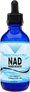Absonutrix NAD Power Booster | 4 oz Big Bottle 120 Days Supply | Nicotinamide Riboside and Pterostilbene Daily Supplement| NAD Supplement | Improved Cell Repair | NAD+