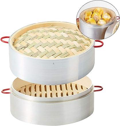 1 Unidad Molinillo Manual de Madera para salero o Especias de Cocina Amarillo VEVICE 12,7 cm 5//13 cm