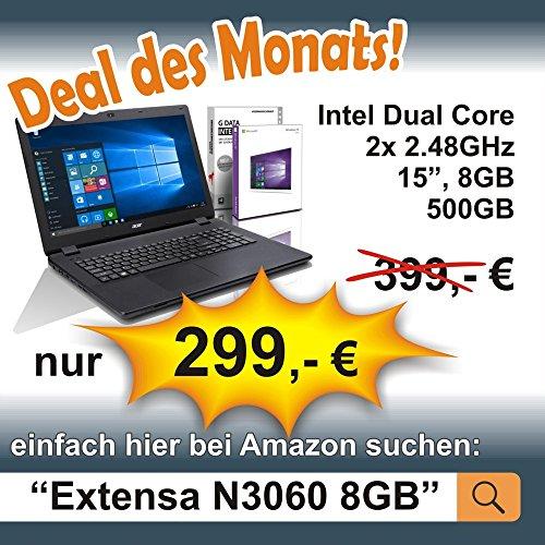 Lenovo (15,6 Zoll) Notebook (Intel Pentium N4200 Quad Core 4×2.50 GHz, 8GB RAM, 750GB S-ATA HDD, Intel HD Graphic, HDMI, Webcam, Bluetooth, USB 3.0, WLAN, Windows 10 Professional 64 Bit) #5334 Bild 3*
