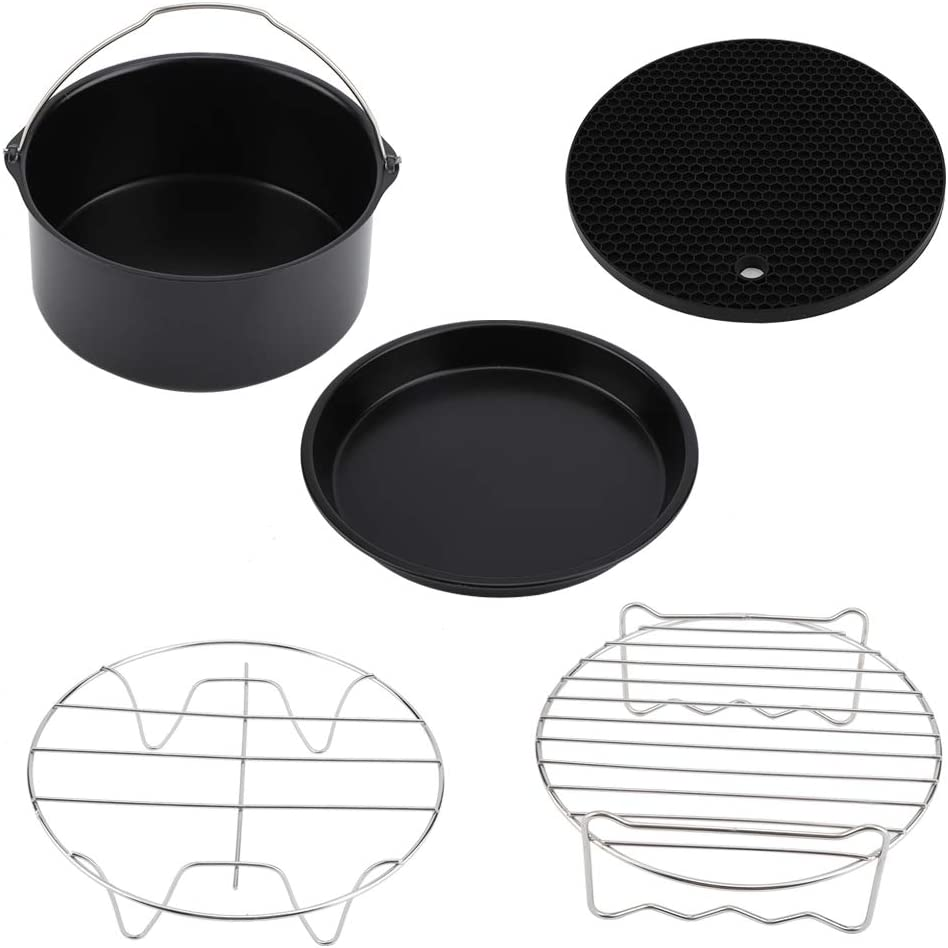 Inexpensive Air Columbus Mall Fryer Accessories Set fo 7Inch Parts