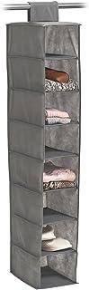 Zeller 14614 Rangement Suspendu, Toison, Gris, 19,5 x 31 x 4 cm