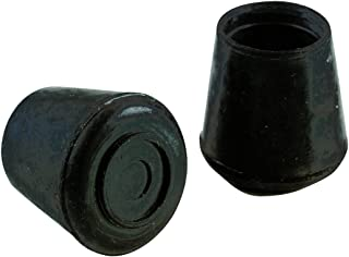 Shepherd Hardware 3205 1-Inch Black Rubber Leg Tip, 40-Pack