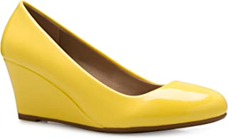 ffe55425f00 Amazon.com: Yellow - Pumps / Shoes: Clothing, Shoes & Jewelry