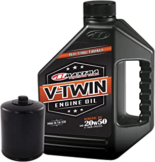 MaximaHiflofiltro VTEOCK5 Engine Oil Change Kit for Harley Davidson Twin Cam V-Twin