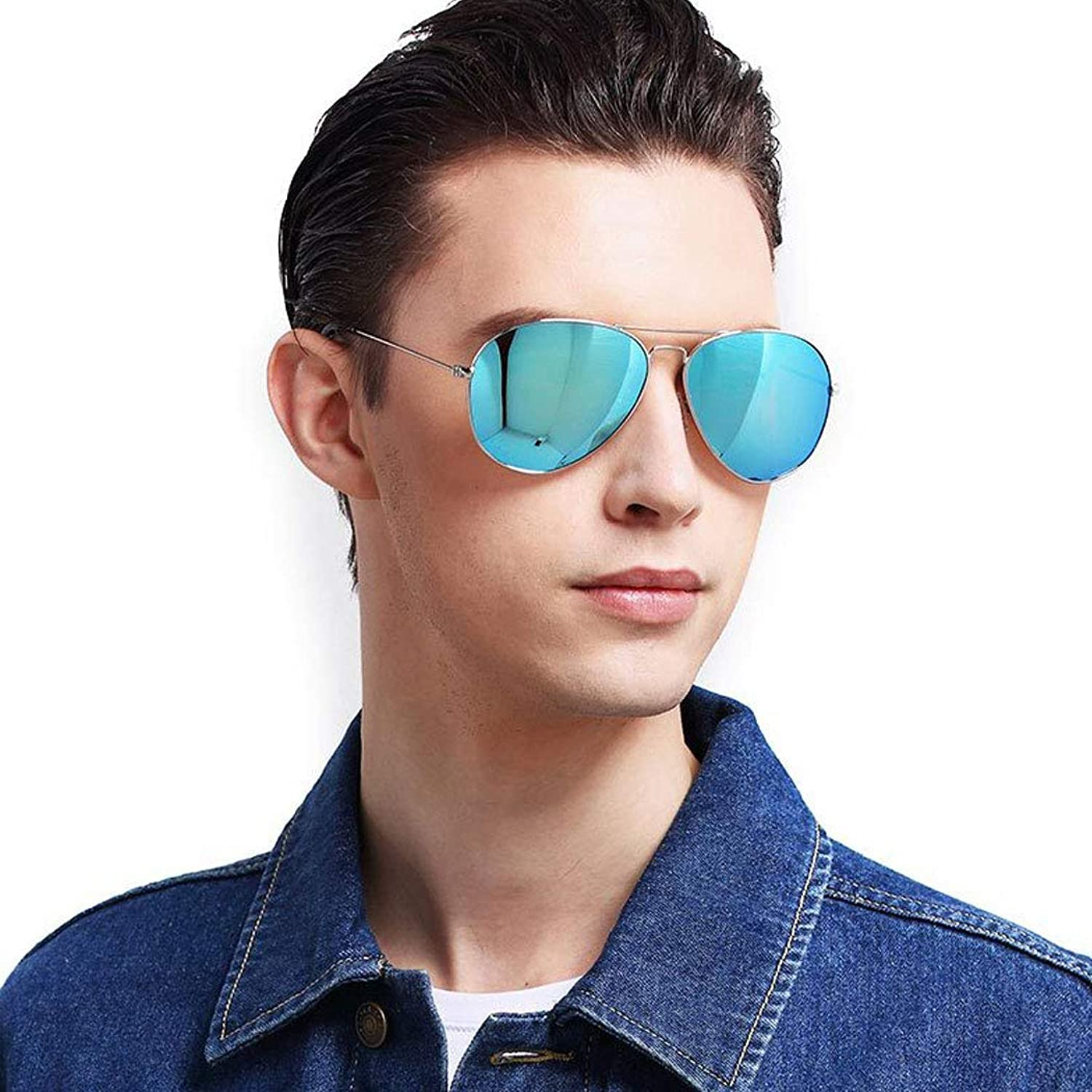 GJFeng Sunglasses Men's Polarized Driving Mirror Sunglasses Men and Women Polarized Sunglasses Unisex Outdoor Sports Driving Fishing