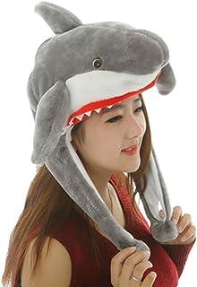 King Ma Unisex Plush Cartoon Animal Winter Headwear Hood Ski Hat