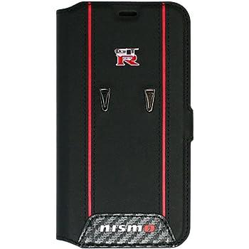 エアージェイ 日産 GT-R 公式 iPhoneXS/X 手帳型ケース NM-PX-B6 CB