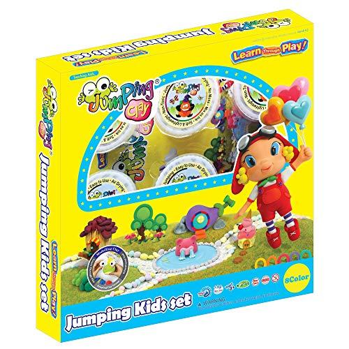 KIT PARA NIÑOS - Recargas de Arcilla JumpingClay y Accesorios