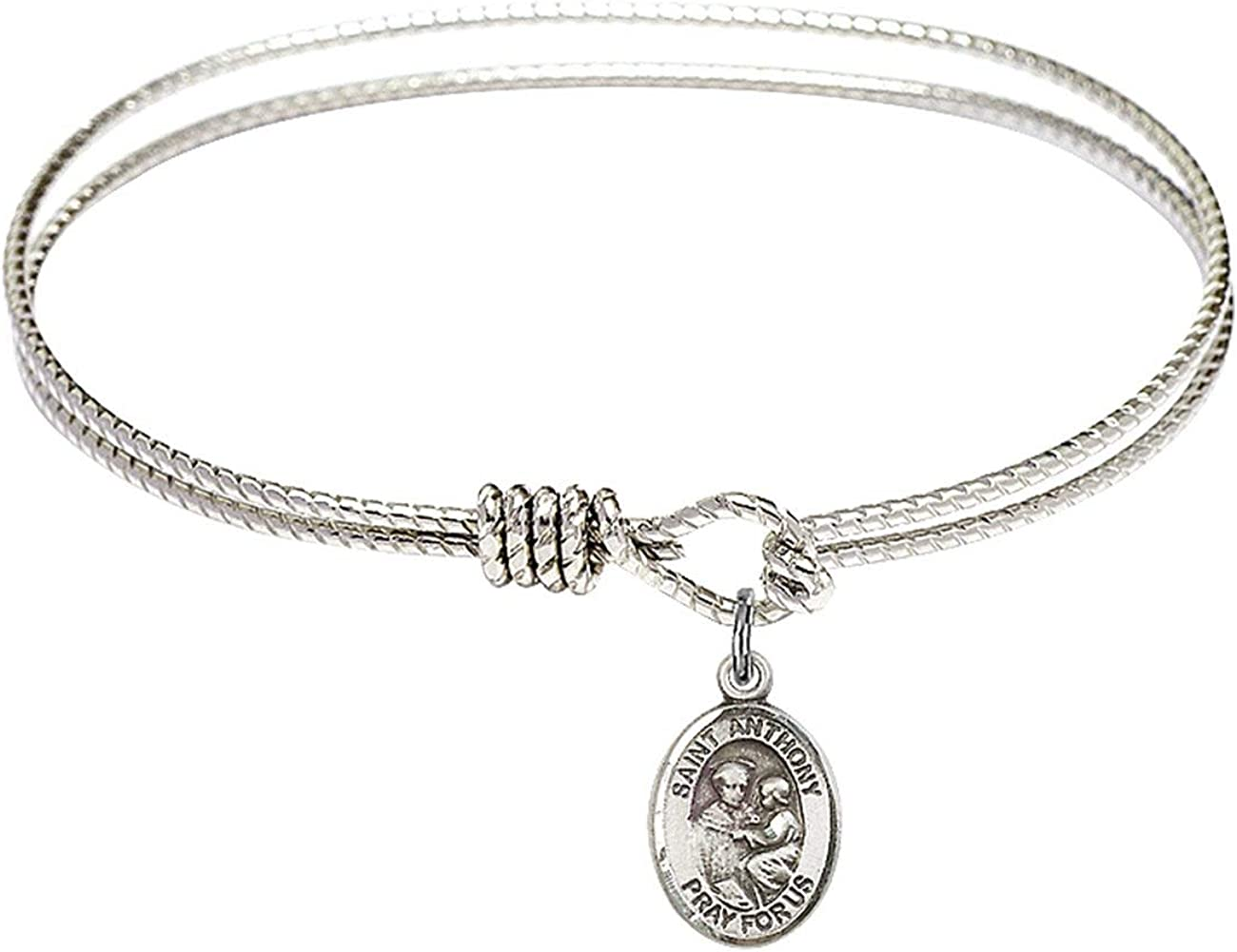 Bonyak Jewelry Oval At the price of surprise Eye Hook Bangle Bracelet Anthony St. w Pa Popular brand in the world