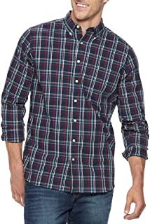 Sonoma Mens Classic Fit Flexwear Button Down Casual Shirt Long Sleeve