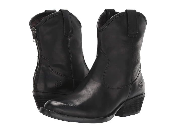 Born  Wynd (Black Full Grain Leather) Womens  Boots