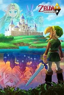 legend of zelda link between worlds poster