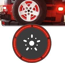 Spare Tire 3rd Third Brake Light Lamp for Jeep Wrangler JK LJ YJ CJ 1997-2017