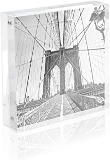Isaac Jacobs Super Thick Acrylic Magnetic Block Frame (5x5)