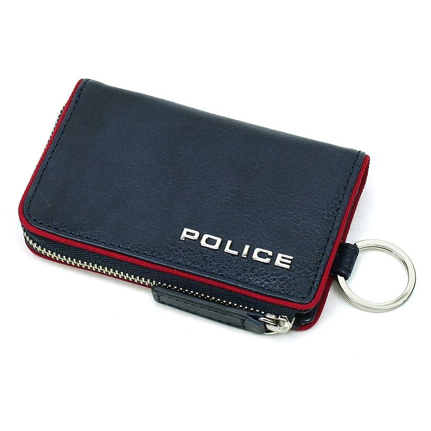 反発感心する稼ぐ[POLICE(ポリス)] キーケース 5連 キーリング付き テライオ PA-70000