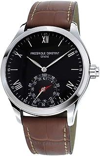 Frederique Constant - Reloj Analógico para Hombre de Cuarzo con Correa en Cuero FC-285B5B6