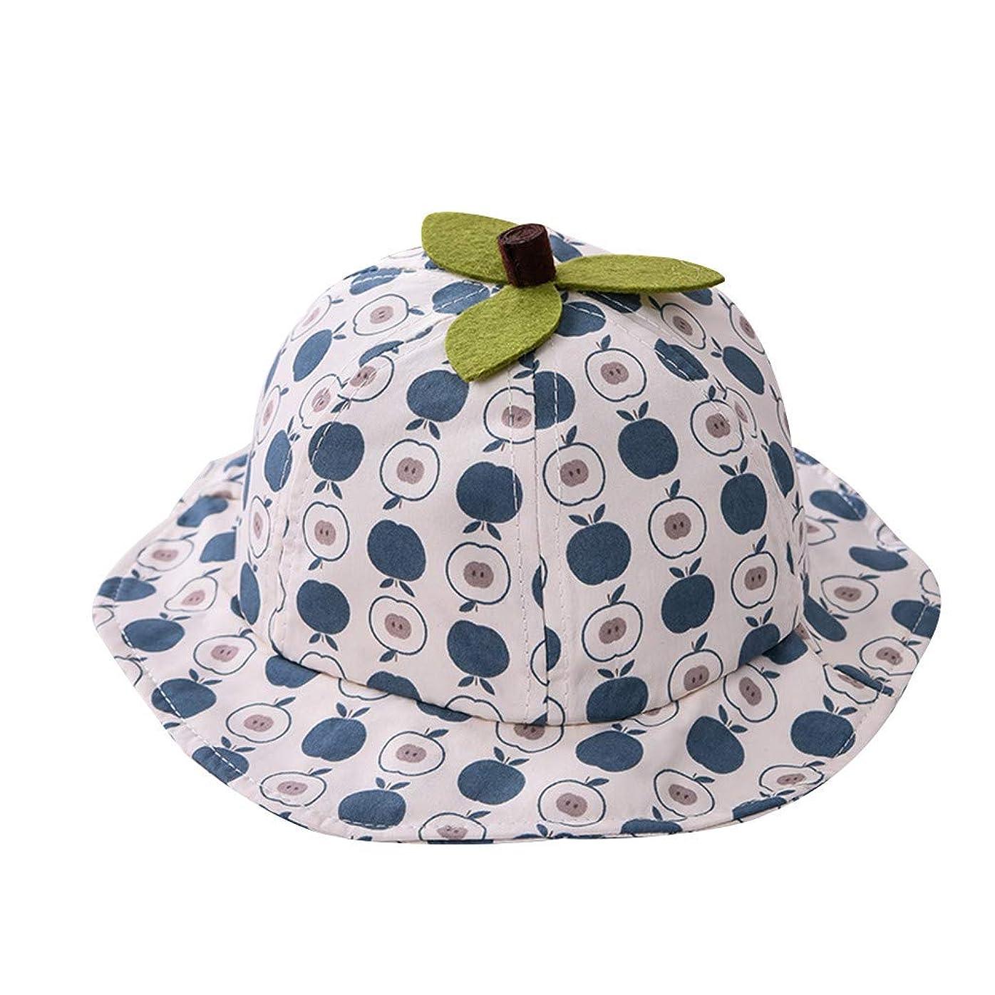 夕方ビルダー城Kaiweini 春夏新しい漁夫帽UV 赤ちゃん ドット ベースボールキャップ 男の子 女の子 UVカット 日焼け止め 子供 3-18ヶ月折りたたみ おしゃれ ベビー キッズ 帽子 野球帽