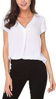 Women's Short/ 3/4 Sleeve Spring/Summer Basic Casual...