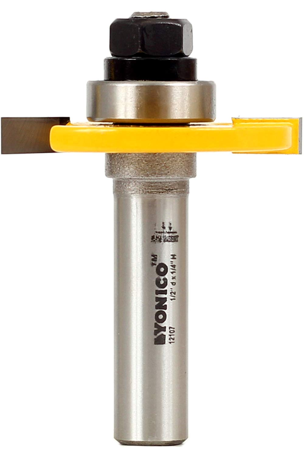 Yonico Router 55% OFF Bits Slotting Cutter 4-Inch 1 12107 Shank 2-Inch At the price