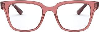 Ray-Ban RX4323V Asian Fit Square Eyeglass Frames Non Polarized Prescription Eyewear